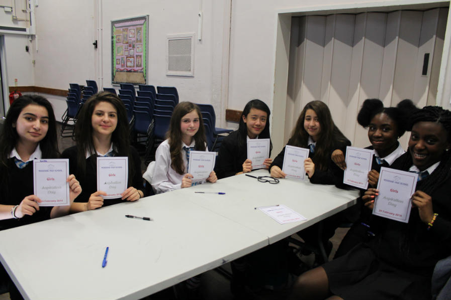 Year 9 Aspiration Days 2014